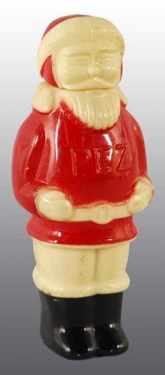 813: Pez Full Body Santa Claus Pez Dispenser. : Lot 813
