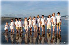 Family, Children, group, Beach Photography - Pawleys Island, SC