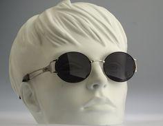 Vogart By Police Mod 3525 Col 5583 / Vintage sunglasses / NOS / 90s Rare round eyewear by CarettaVintage on Etsy