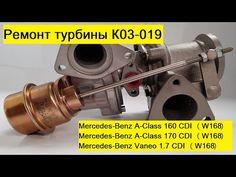 Ремонт турбины на Mercedes-Benz A-Class 160/170 CDI (W168), Vaneo 1.7 CDI - YouTube Benz A Class, Mercedes Benz, Youtube, Youtubers, Youtube Movies