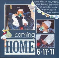 coming home - Scrapbook.com