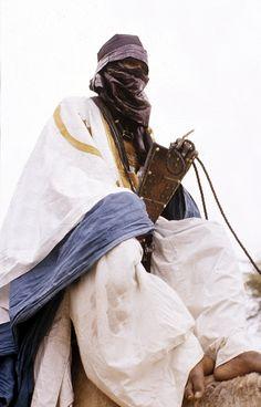 Tuareg gentleman near Timbuktu, Mali circa 1959. Image courtesy of Eliot Elisofon and The Smithsonian.