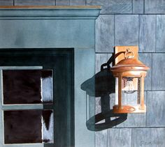 Watercolor: Peter Hussey: The Impact of Geometric Shapes in Watercolor Paintings - ArtistDaily