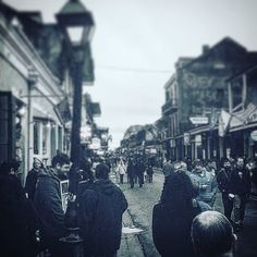 The French quarter. It's so vibrant and alive. But somehow still a city of ghosts. #life #ghost #neworleans #bourbonstreet #frenchquarter #love # by jaygetshazy