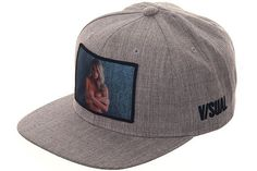 V/SUAL Apparel Emily Sears 2 Snapback Hat - Heather Gray - Hat Club