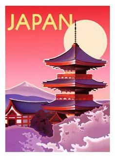 Japan Ignacio Mini Art Print (08-0311)