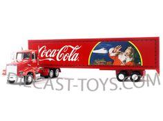 MOTORCITY CLASSICS-380731 COCA COLA CHRISTMAS HOLIDAY CARAVAN BIG ... Coca Cola Christmas, Coke, Rigs, Caravan, Christmas Holidays, Transportation, Trucks, Classic, Christmas Vacation