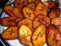 *** Platanos Maduros Fritos - yum!