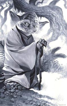Yoda by Christopher Stevens