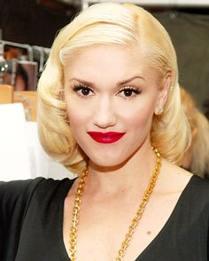 Gwen Stefani - The Red Lip: An American Classic - The Best Hair and Makeup of All Time - Makeup - InStyle.com