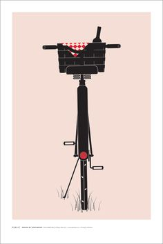 Bike ride to the park for a picnic dinner anyone? (poster: Jason Munn // Public Bikes)