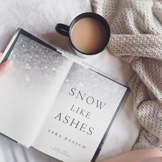 introvertedbookworm24:  I started this gorgeous book today for the Snow Like Ashes Readalong :D I'm only a few pages in and I love it already!