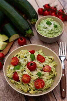 Vegan Zucchini Recipes, Vegetarian Recipes Videos, High Protein Vegetarian Recipes, Vegetarian Appetizers, Easy Healthy Recipes, Vegetarian Chili Easy, Vegetarian Spaghetti, Vegetarian Breakfast, Healthy Side Dishes