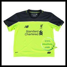 Fotballdrakter Liverpool FC Barn Tredjedraktsett 2016-2017 Three Kids, Liverpool Fc, Mens Tops, T Shirt, Barn, Supreme T Shirt, Tee Shirt, Converted Barn, Tee