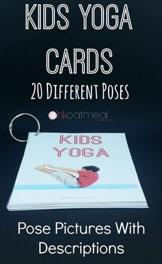 Yoga Cards with pictures and descriptions - I LOVE these so awesome!