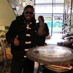 marcus parker visits revolver drums