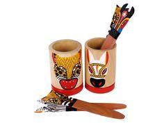 Portalápiz Carnaval - Catálogo de Productos - Artesanías de Colombia