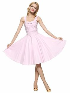Maggie Tang 50s 60s Vintage Cocktail Retro Swing Rockabilly Ball Gown Dress