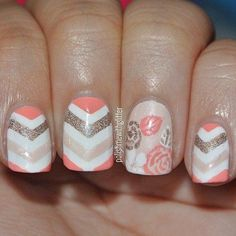 cool 22 Easy Cute Valentines Day Nail Art Designs, Ideas, Trends Stickers 2015 | Fash... - Pepino Nail Art Design