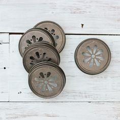 Image of Decorative Mason Lids