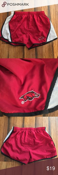 Arkansas Razorbacks athletic Shorts University of arkansas athletic shorts in a size women's small. Like new without tags. NWOT Shorts