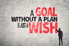 A Good Plan must have alternatives.