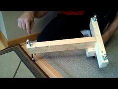 Rifle Shooting Stand / Rest DIY Homemade $5 - YouTube Shooting Stand, Shooting Rest, Shooting Bench, Shooting Targets, Shooting Guns, Shooting Range, Rifle Stand, Bench Rest, Shooting Accessories