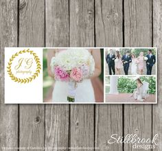 Wedding Facebook Timeline Template for Photographers - Photography Facebook Timeline Cover Photo - Facebook Photo Header Banner - TC38