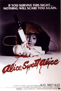 Alice, Sweet Alice (1977) THIS WAS FILMED IN THE CITY OF PATERSON NJ  3 BLOCKS FROM MY HOUSE BY THE OLD MILLS BY THE FALLS CHECK IT OUT IF YOU CAN