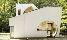 Esta moderna casa podría ser tu nuevo hogar lejos de la ciudad #arquitectura #hogar #naturaleza