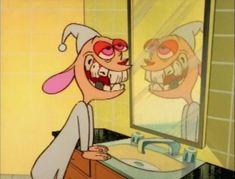15 ways '90s Nickelodeon Scarred ME for Life: #6 Ren's tooth decay.