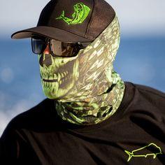 Salt Armour StealthTech Verduous Skull Face Shield Fishing Sun Mask Balaclava #SaltArmour #FaceShield
