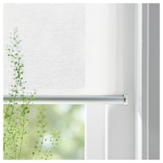 IKEA SKOGSKLÖVER roller blind The blind is cordless for increased child safety. Cellular Blinds, Ceiling Materials, Ikea Family, Ikea Home, Custom Drapes, Roller Shades, Window Frames, Blinds For Windows, Window Coverings