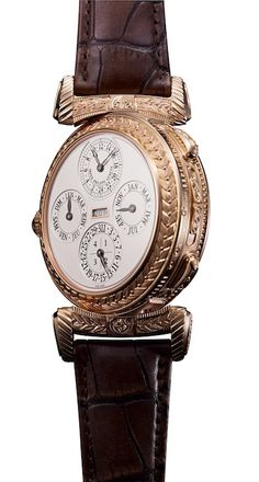 Patek Philippe Grandmaster Chime Ref. 5175 reversing mechanism in action
