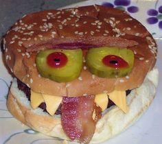 Alisa's Craft Corner: Creative kids' food- Cheeseburger
