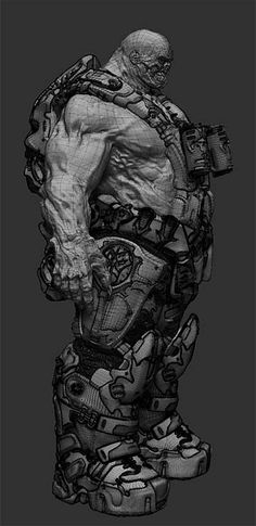 Pixologic ZBrush Gallery: Concept Art
