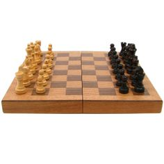 Wood Chess Set Available at www.DebonairHomeDecor.com