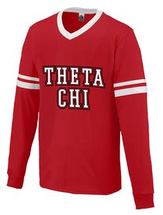 Customizable Theta Chi Sleeve Stripe Long Sleeve Jersey design by Adam Block Design. Your source for creative apparel designs! Sorority Outfits, Sorority Shirts, Theta Chi, Custom Greek Apparel, Greek Clothing, Block Design, Apparel Design, Shirt Designs, Sweatshirts