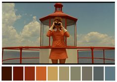 Twitter account Cinema Palettes takes screenshots from classic films and translates them to ten-part color palettes. Though based on a momentary still