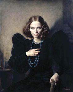 Ophelia by Gerald Leslie Brockhurst. Date painted: c.1937