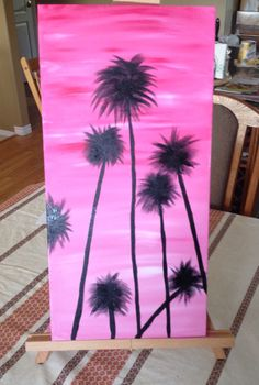 Florida Palms Palms, Tie Dye Skirt, Florida, Paintings, Simple, Ideas, Palmas, The Florida, Palm Trees