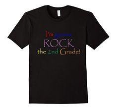 Men's I'm Gonna Rock the 2nd Grade T-Shirt, Back to Schoo…