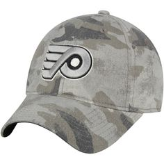7c69738cab4 Men s Philadelphia Flyers adidas Camo Slouch Adjustable Hat