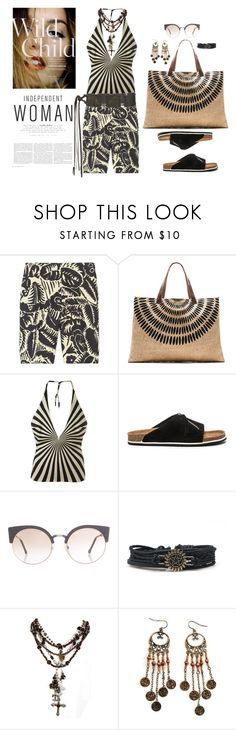 """""""~printed tops #3~"""" by confusgrk ❤ liked on Polyvore featuring Marc Jacobs, The Beach People, Gareth Pugh, Our Legacy, RetroSuperFuture, AllSaints and AmiciMei"""