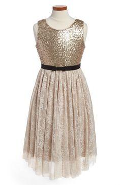 BLUSH by Us Angels Sequin Dress (Little Girls & Big Girls) | Nordstrom, flower girl dress! Sophie?