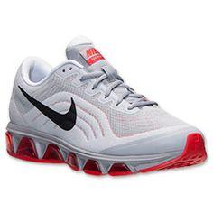 Men\u0026#39;s Nike Air Max Tailwind 6 Running Shoes | Finish Line | Wolf Grey/Black