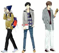 Yaten, Seiya y Taiki