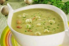 http://xstyle.info 1. Овощной супчик. Вам понадобится: Замороженные брокколи и цветная капуста. Лук, морковка, 2 кусочка плавленного сыра, несколько картофелин, специи, немного сливочного...