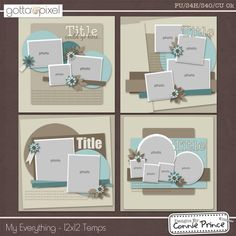 The amazing Gotta Grab It event at Gotta Pixel is here and Connie's contribution is a MUST-HAVE! Check out these TEN great new pac. Scrapbook Patterns, Scrapbook Layout Sketches, Scrapbook Templates, Scrapbook Designs, Card Sketches, Scrapbook Supplies, Scrapbooking Layouts, Digital Scrapbooking, Scrapbook Borders