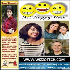 Act Happy Week For some strange reason if you can get your face to smile you actually feel better. The third week of March is Act Happy Week where you are encouraged to act happy even if youre not. Our brains are equipped with an inner pharmacy that release endorphins and other chemicals that bolster our immune systems and promote well being. Everybody feels stressed out and frustrated at times but we have the power to choose our mood. #youthicon #motivationalspeaker #inspirationalspeaker…